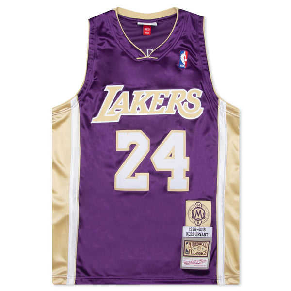 Mitchell & Ness Kobe Bryant Los Angeles Lakers Authentic Jersey - Purple