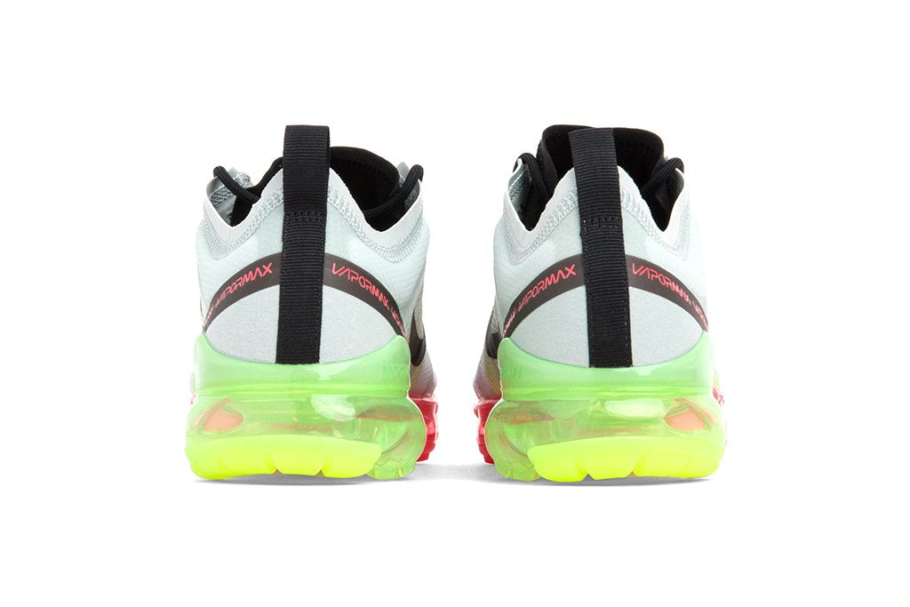 3b283dbd593a1 Nike Air VaporMax 2019 - Pure Platinum Volt Bright Crimson