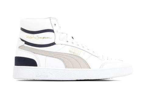 Puma Ralph Sampson Mid OG - White/Grey Violet