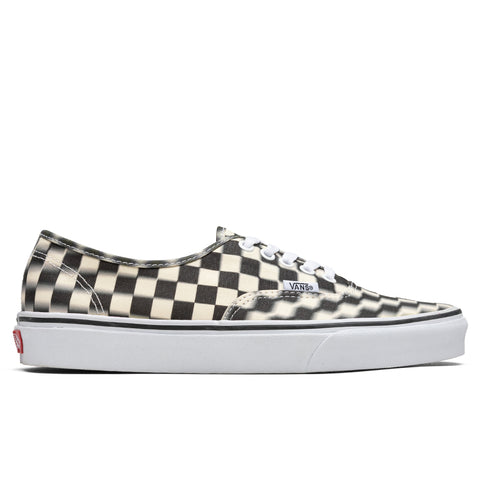 Vans Authentic - Blur Checkerboard Black
