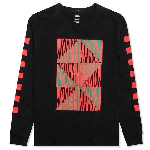 Vans x MoMA Women's Faith Ringgold L/S Tee - Black