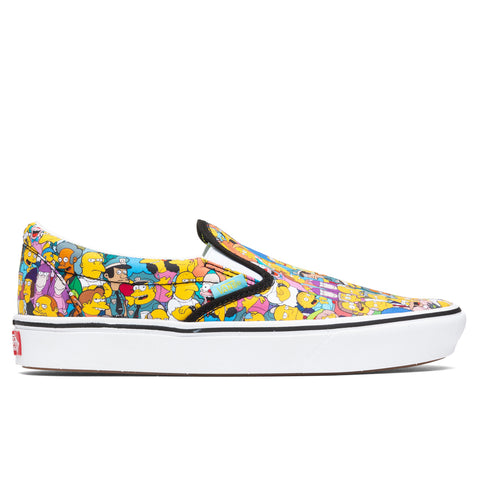 Vans x The Simpsons ComfyCush Slip-On - Springfield