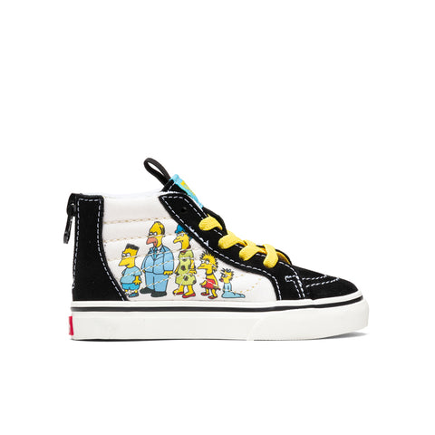 Vans x The Simpsons Toddler Sk8-Hi Zip - 1987-2020