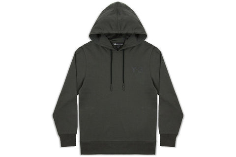 Y-3 Classic Logo Popover Hoody - Black Olive