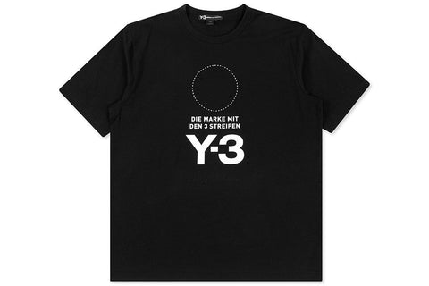 Y-3 Stacked SS Tee - Black