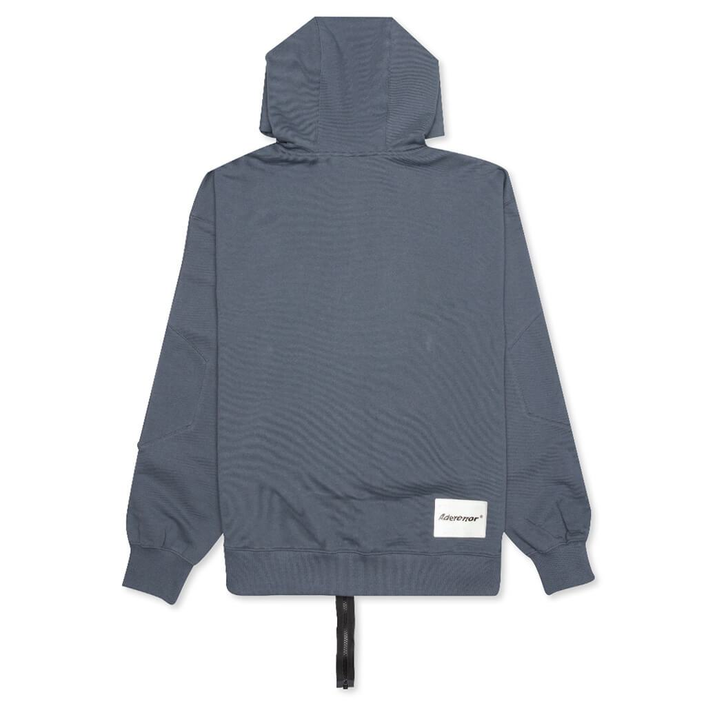 Ader Error Detachable Extraterres Oversized Hoodie - Charcoal