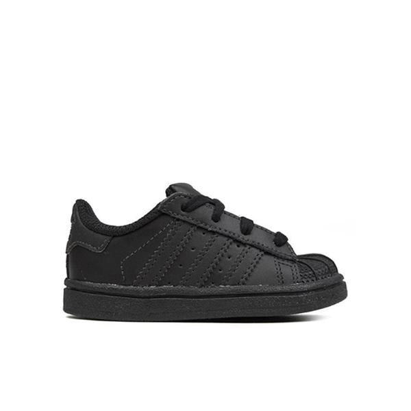 Adidas Originals Infant Superstar - Black/Black