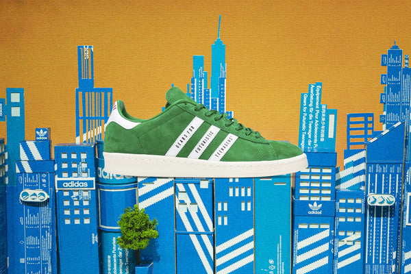 Adidas Originals x Human Made Campus - Green