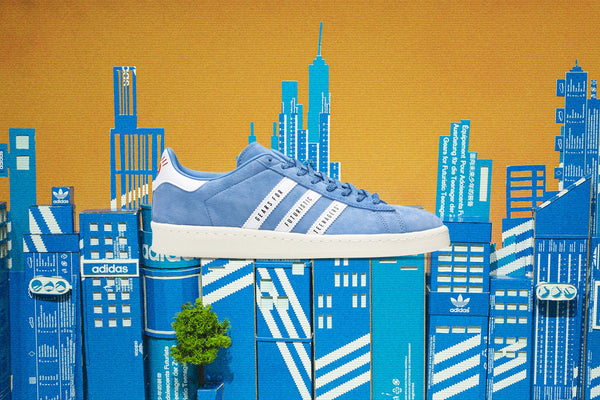 Adidas Originals x Human Made Campus - Light Blue