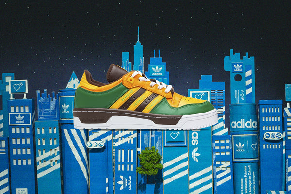 Adidas Originals x Human Made Rivalry Low - Green
