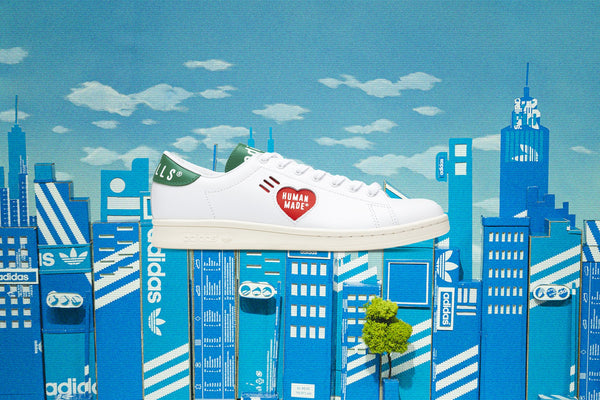 Adidas Originals x Human Made Stan Smith - White/Green