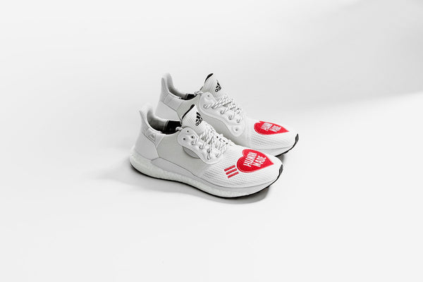 Adidas Originals x Pharrell Williams x Human Made Solar Hu - White/Red
