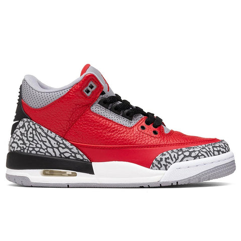 Air Jordan 3 Retro SE (GS) Fire Red - Fire Red/Cement Grey/Black