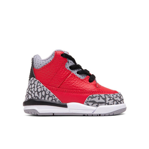 Air Jordan 3 Retro SE (TD) Fire Red - Fire Red/Cement Grey/Black