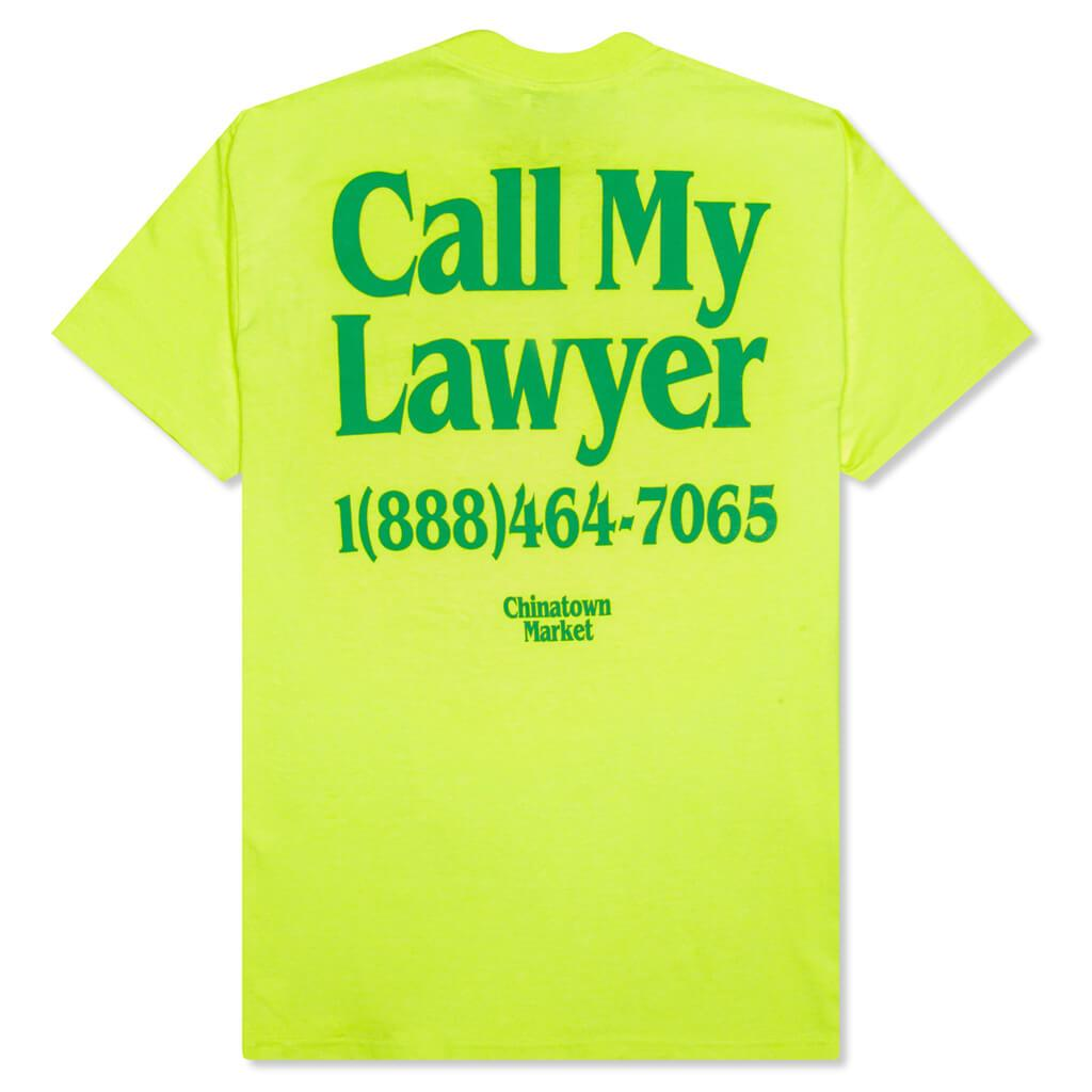 Chinatown Market Lawyer T Shirt Yellow Feature