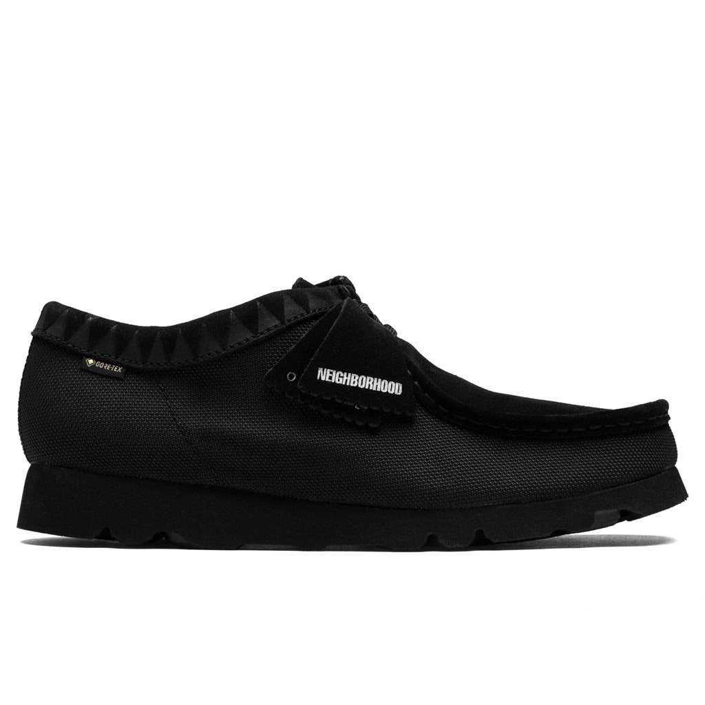 Clarks x Neighborhood Wallabee GTX - Black/Synthetic