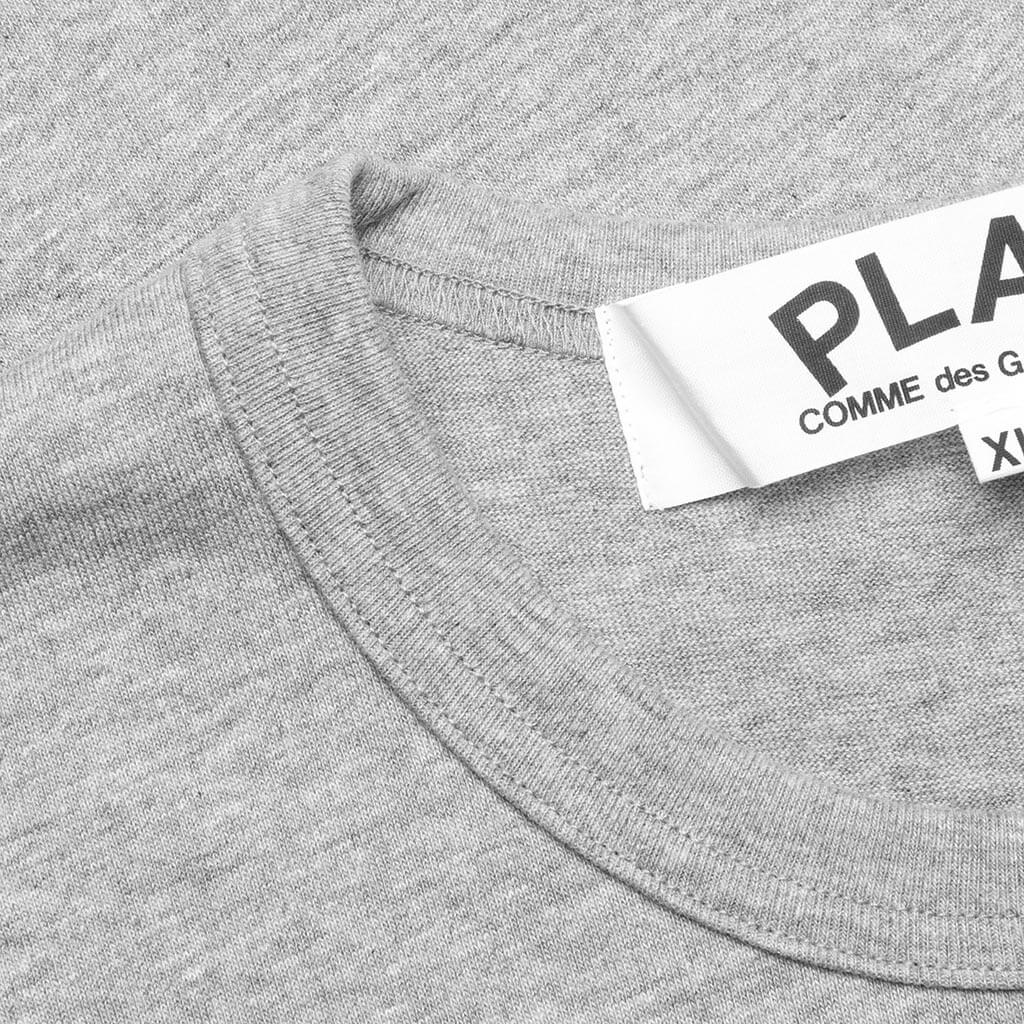 Comme des Garcons PLAY Heart T-Shirt - Grey