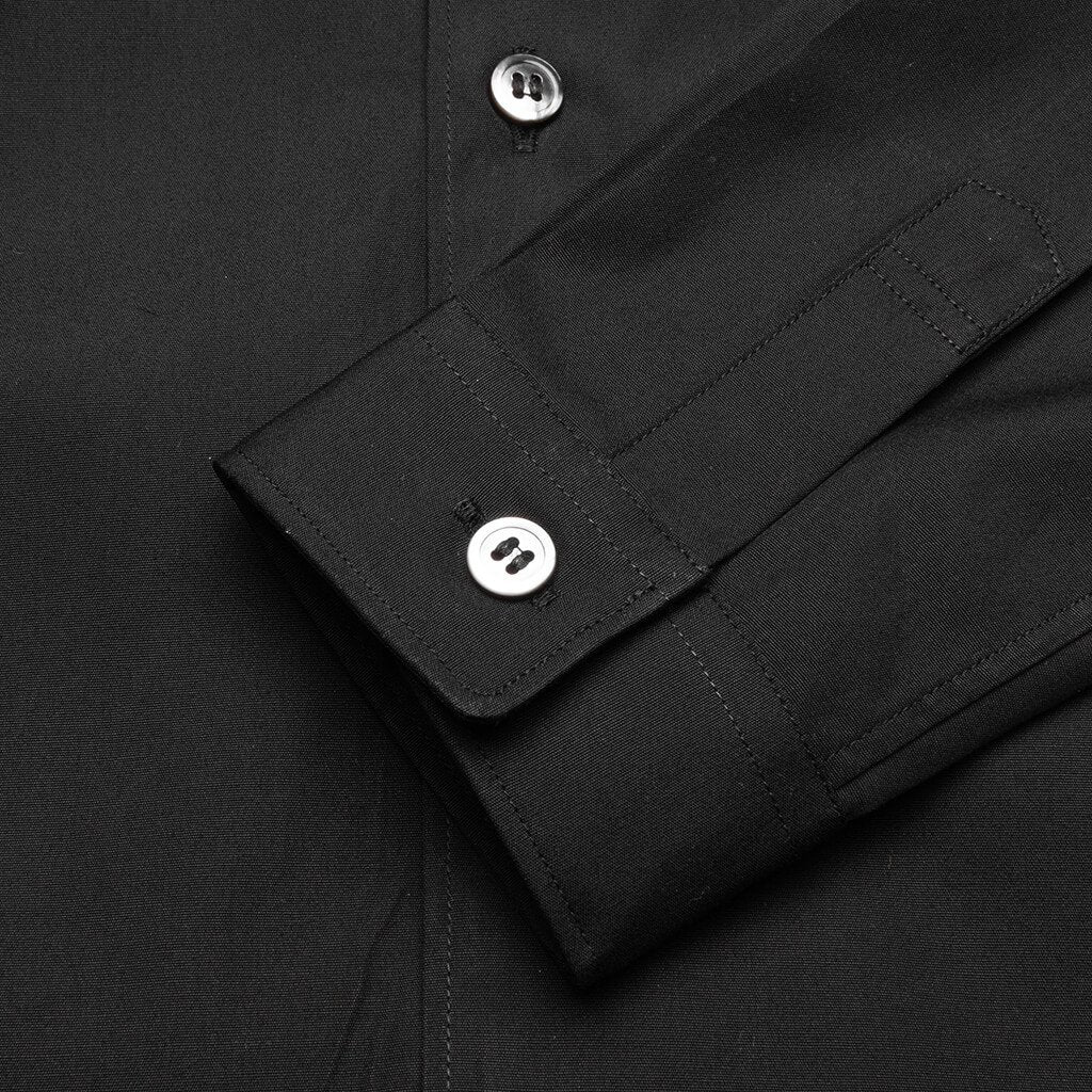 Comme des Garcons PLAY Kid's Button Up Shirt - Black
