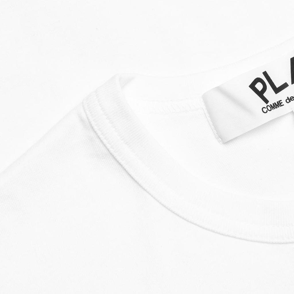 Comme des Garcons PLAY Kid's Emblem T-Shirt - White
