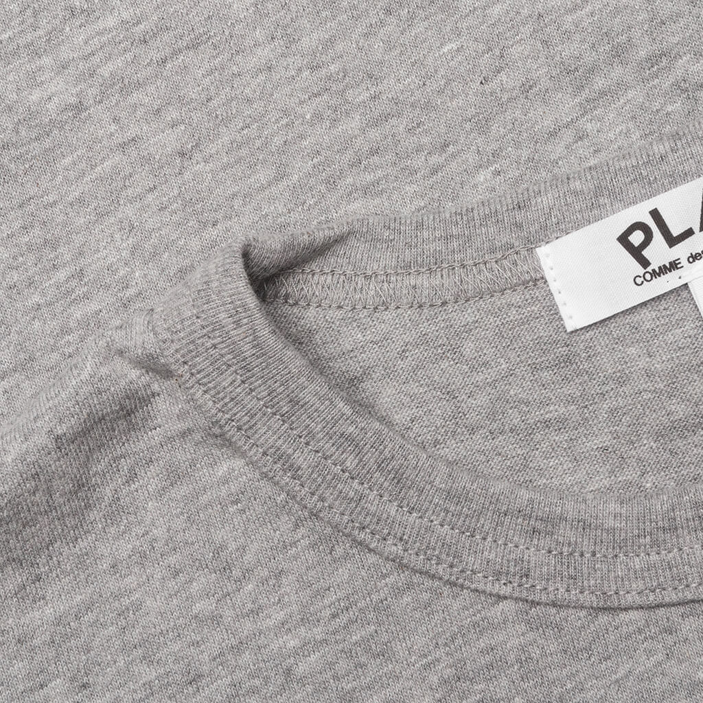 Comme des Garcons PLAY Kid's Heart T-Shirt - Grey