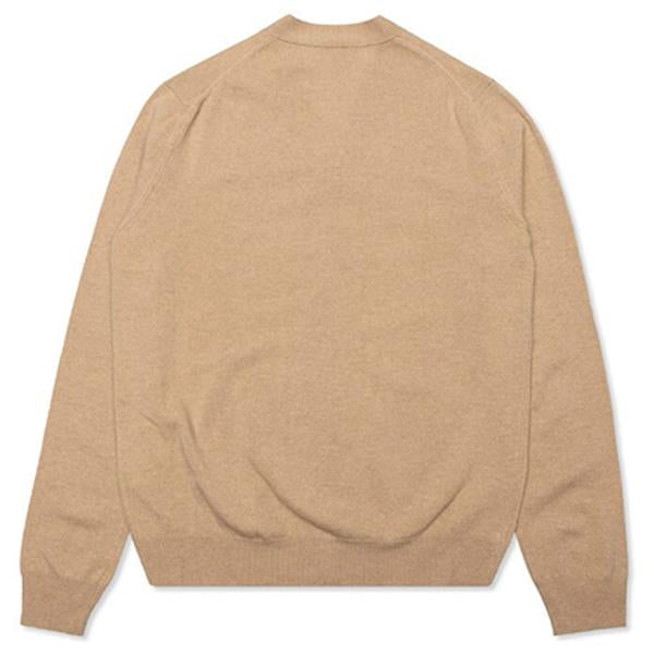 Comme des Garcons PLAY Knit Cardigan - Tan