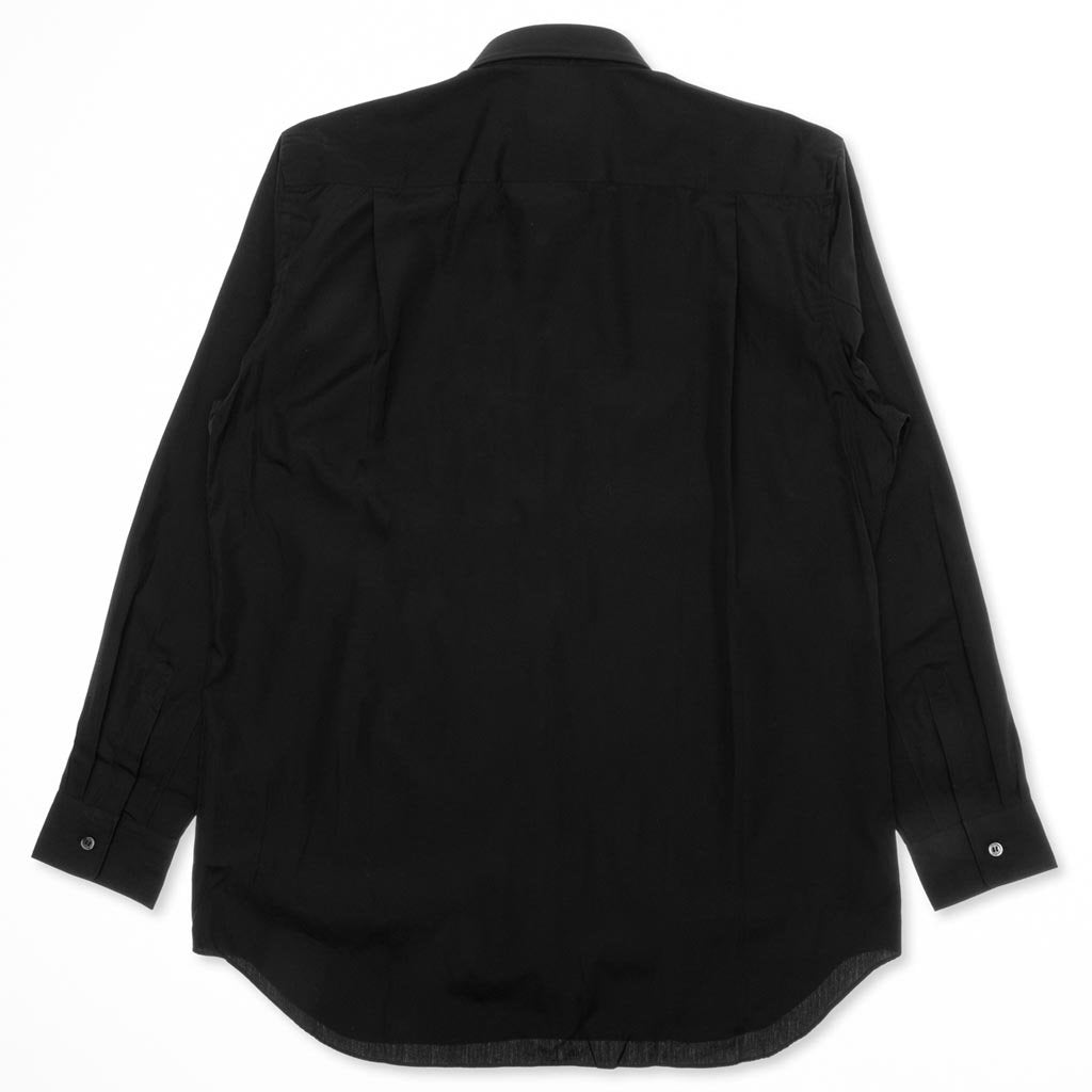 Comme des Garcons PLAY Small Emblem Button Down - Black