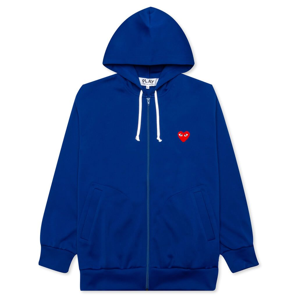 Comme des Garcons PLAY Zip Up - Blue