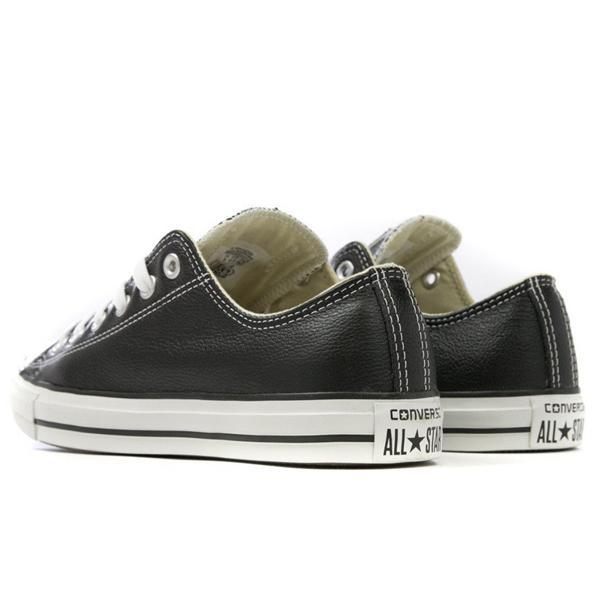 Converse Chuck Taylor All Star Leather Ox - Black