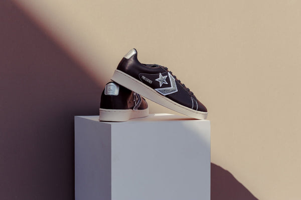 Converse Pro Leather Ox - Black/Silver