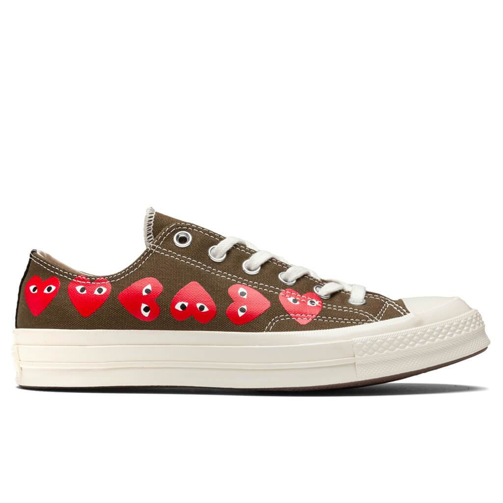 Converse x Comme Des Garcons PLAY All Star Chuck '70 Ox ...