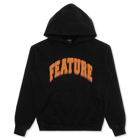 Feature Collegiate Hoodie - Black