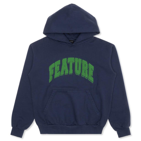 Feature Collegiate Hoodie - Blueberry