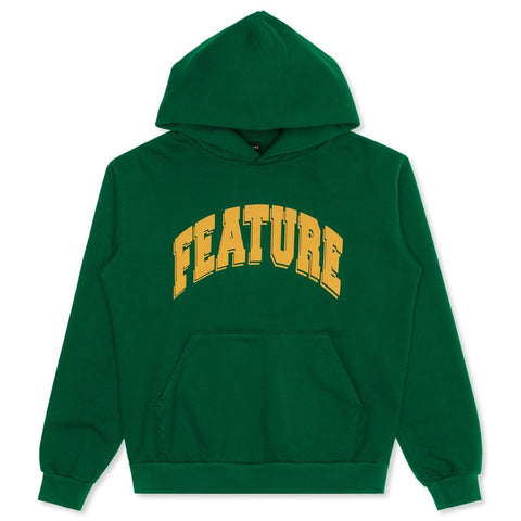 Feature Collegiate Hoodie - Forest Green