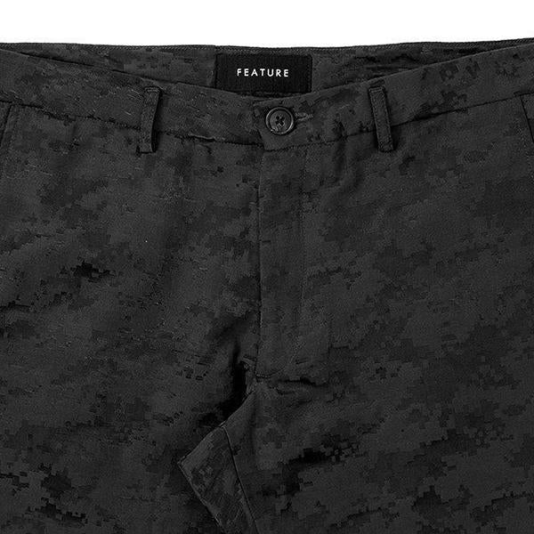 Feature Digi Camo Field Pant - Black