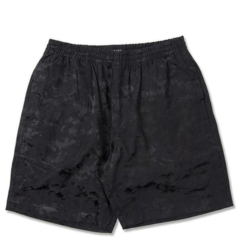 Feature Digi Camo Field Short - Black