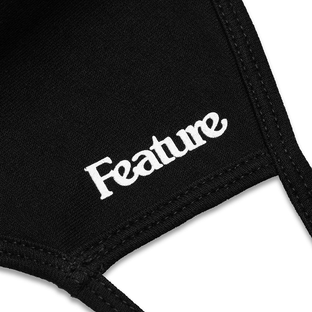 Feature Face Mask - Black