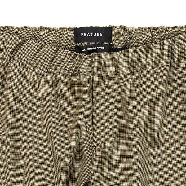 Feature Kahlo Pant - Chestnut Puppytooth