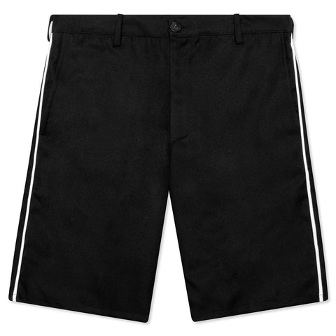 Feature Postal Short - Black/White Piping