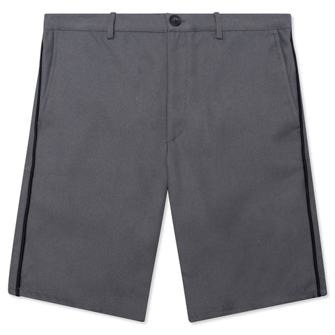 Feature Postal Short - Graphite Grey/Black Piping