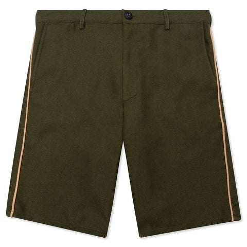 Feature Postal Short - Marine Green/Desert Tan Piping