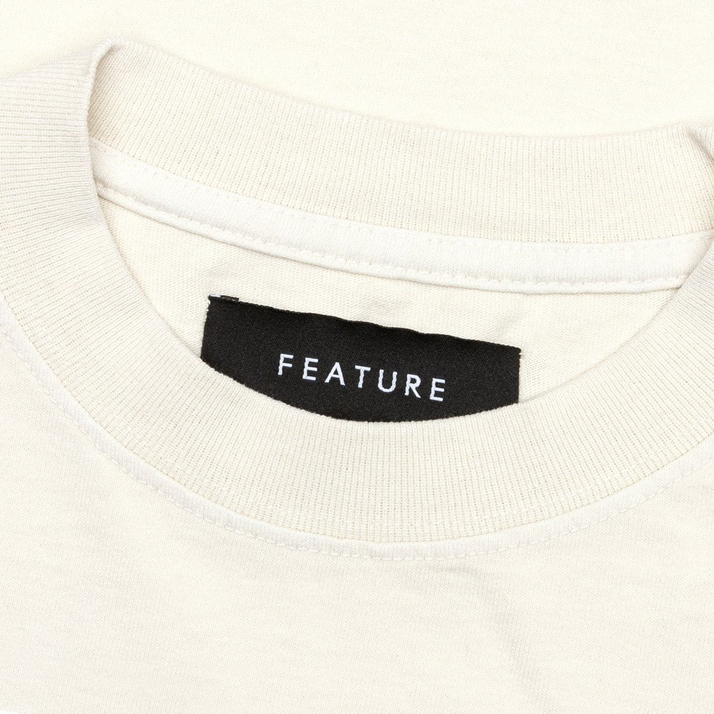 Feature Saturn Tee - Off-White/Blue