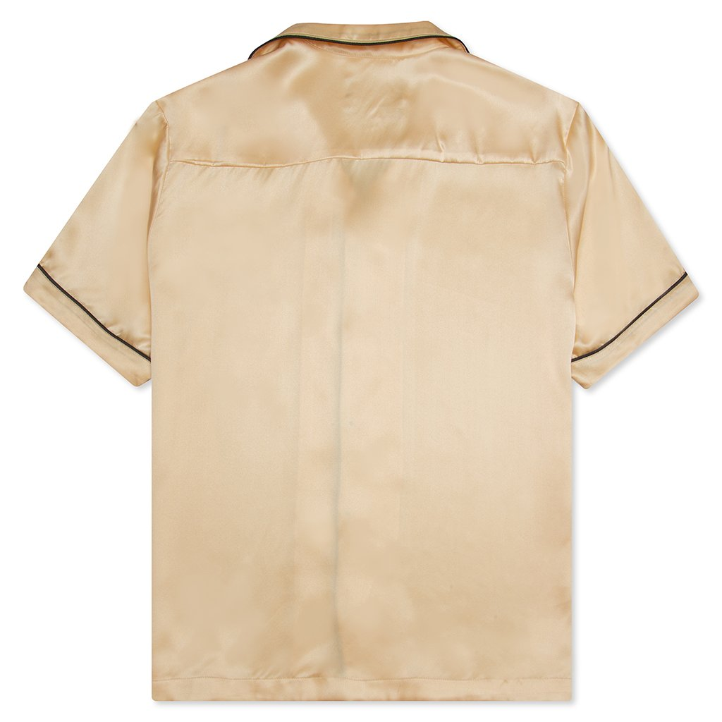 Feature Silk Shirt - Champagne