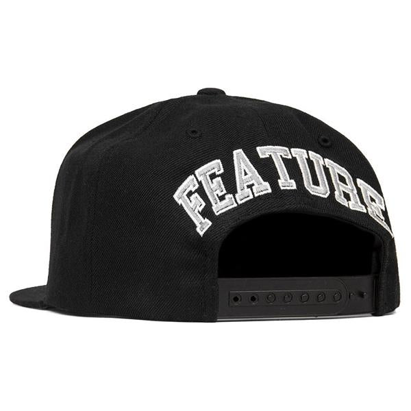 Feature Sox Snapback - Black