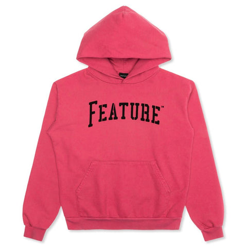Feature Strike Hoodie - Hot Pink