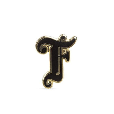 Feature x Pintrill Old English Pin - Black