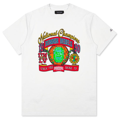 Feature x UNLV Jewel Tee - Off White