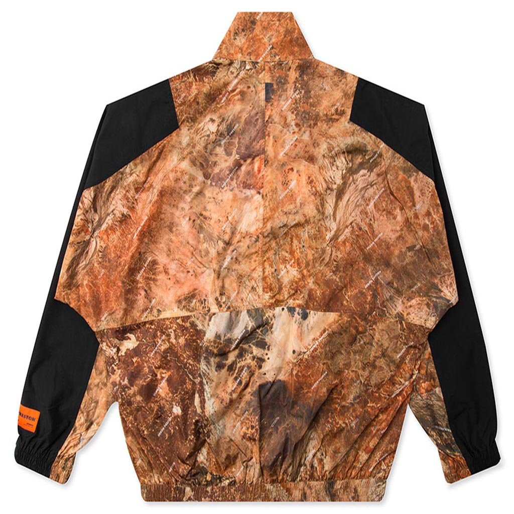 Heron Preston Nylon Camo Tracksuit Jacket - All Over Multi