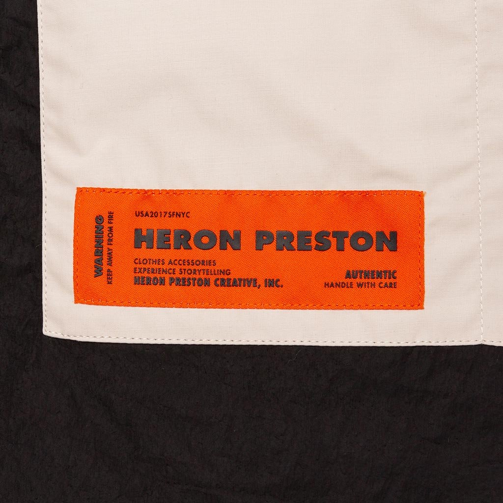 Heron Preston Nylon S/S Pocket T-Shirt - Black/Green