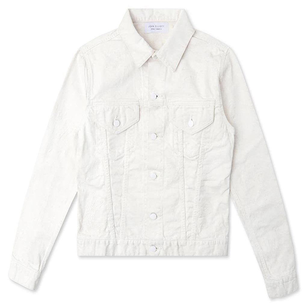 John Elliott Painted Thumper Jacket Type III - Ivory