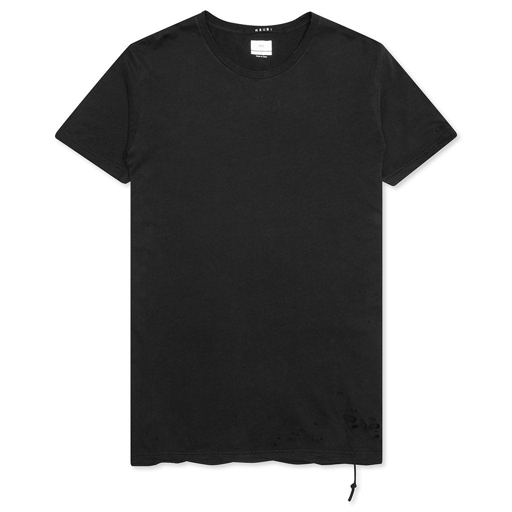 Ksubi Sioux Pocket S/S Tee - Worn in Black